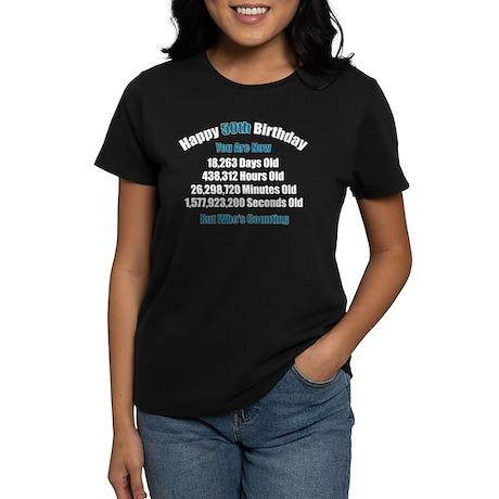 50 'Years' Old Women's Dark T-Shirt