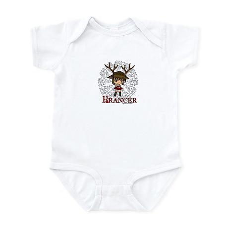 Chibi Reindeer Prancer Infant Bodysuit