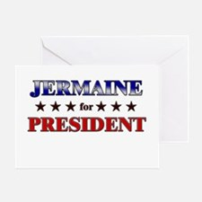 JERMAINE for president Greeting Card