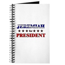 JEREMIAH for president Journal