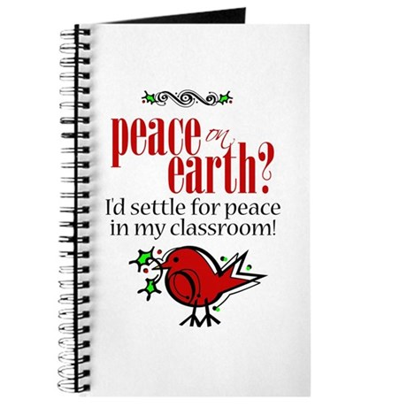 Peace in the Classroom Journal