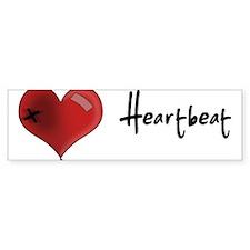 Heart Beat Bumper Bumper Sticker