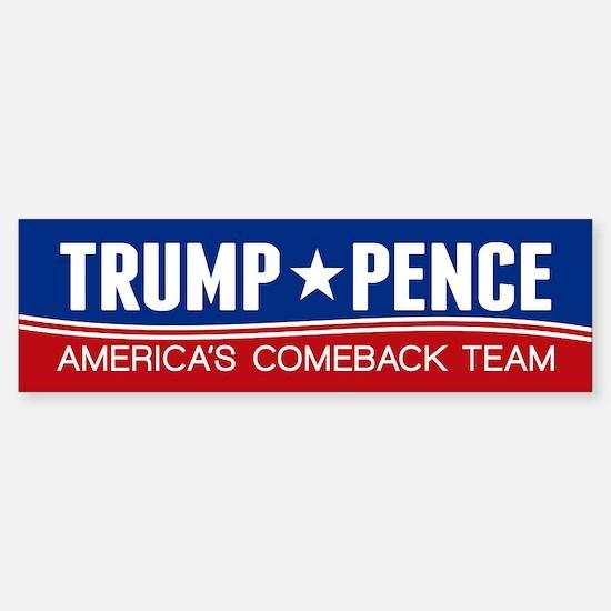 Trump Pence 2016 Bumper Bumper Bumper Sticker