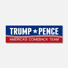 Trump Pence 2016 Car Magnet 10 x 3