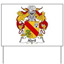 Abril Yard Sign