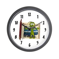 Al Alien Wall Clock