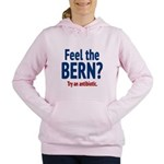 Feel the Bern? Try an antibiotic. Women's Hooded S