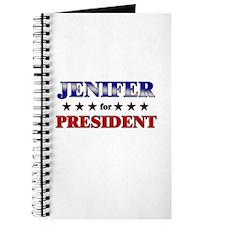JENIFER for president Journal