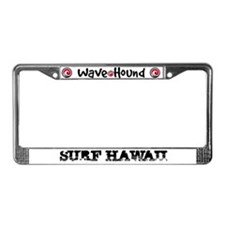 Surf Hawaii License Plate Frame
