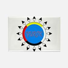 Yurok Rectangle Magnet