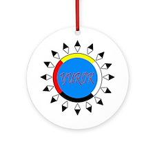 Yurok Ornament (Round)