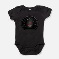 Cute Black black Baby Bodysuit