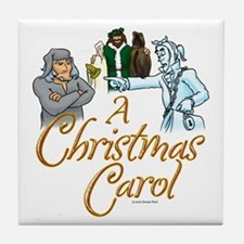 A Christmas Carol Tile Coaster