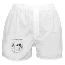 Rough Brussels Griffon Boxer Shorts