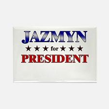 JAZMYN for president Rectangle Magnet