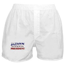 JAZMYN for president Boxer Shorts