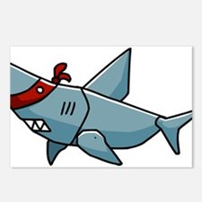 SHaRK Mascot Postcards (Package of 8)