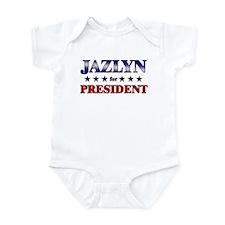 JAZLYN for president Infant Bodysuit