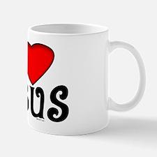 I Love Jesus Small Mugs