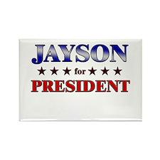 JAYSON for president Rectangle Magnet