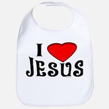 I Love Jesus Bib
