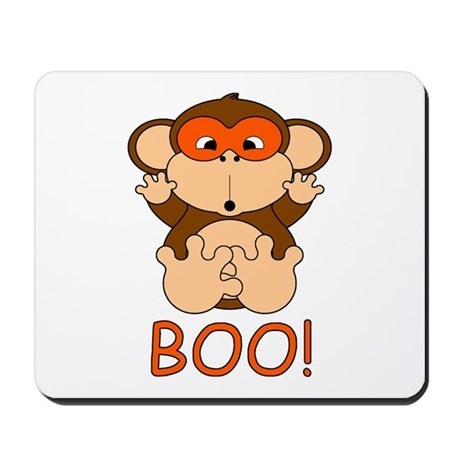 Halloween Monkey Mousepad