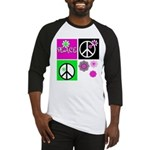 Peace for All  Baseball Jersey