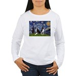 Starry Night & Bos Ter Women's Long Sleeve T-Shirt