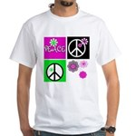 Peace for All White T-Shirt