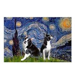 Starry Night & Bos Ter Postcards (Package of 8)