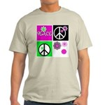 Peace for All  Ash Grey T-Shirt