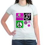 Peace for All Ringer T-shirt
