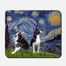 Starry Night & Bos Ter Mousepad