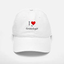 I Love My Exobiologist Baseball Baseball Cap
