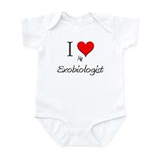 I Love My Exobiologist Infant Bodysuit