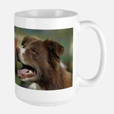 Border Collie Head Study Mugs