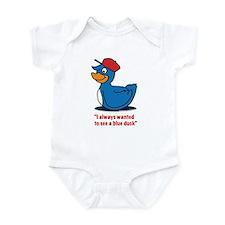 Mr. blue duck, Quacktastic! Infant Bodysuit