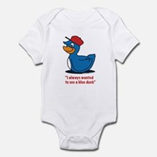 Mr. blue duck, Quacktastic! Infant Bodysuit