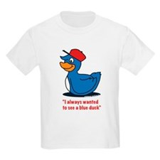 Mr. blue duck, Quacktastic! T-Shirt