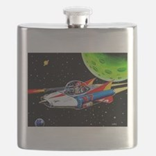 V-7 SPACE SHIP Flask