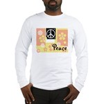 Pastel Colors Peace Long Sleeve T-Shirt