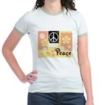 Pastel Colors Peace Women's Ringer