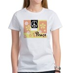 Pastel Colors Peace Women's T-Shirt