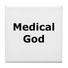 Medical God Tile Coaster
