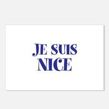 Je Suis Nice Postcards (Package of 8)
