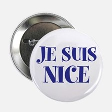 "Je Suis Nice 2.25"" Button"