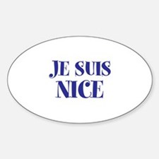 Je Suis Nice Decal