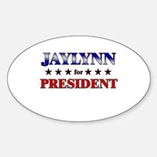 JAYLYNN for president Oval Decal
