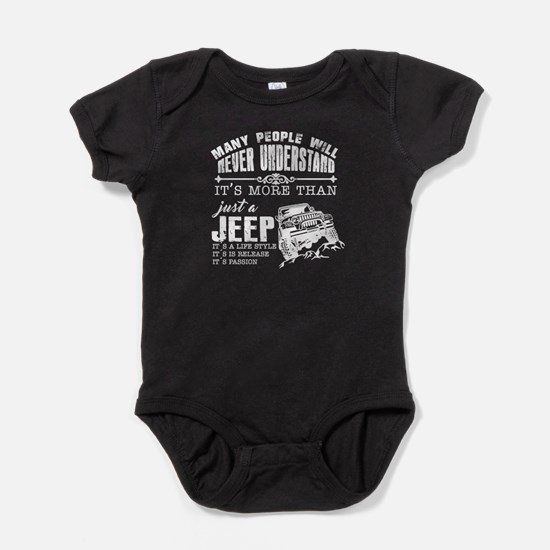 Just A Jeep Baby Bodysuit