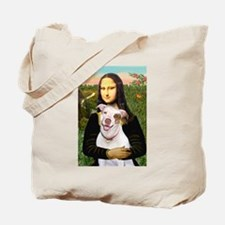 Mona's Pitbull Tote Bag